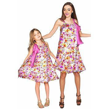 In Love Melody Swing Chiffon Mother Daughter Dress