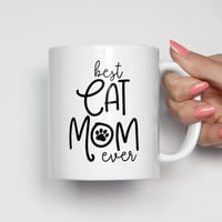 Best Cat Mom Ever Mug