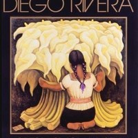 Girl with Lilies Diego Rivera Art Print