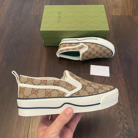 Women's Gucci Tennis 1977 slip-on sneaker