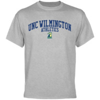UNC Wilmington Seahawks Athletics T-Shirt - Ash