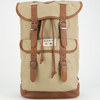 Benrus Scout Backpack Khaki One Size For Men 25849141501