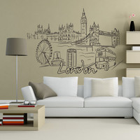 Vinyl Wall Decal Sticker London #1381