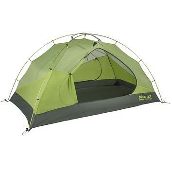 Marmot Crane Creek Backpacking and Camping Tent Macaw Green/Crocodile 2 Person Tent Only