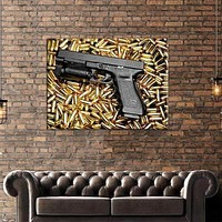 Glock 35 Swimming in Bullets Canvas Set