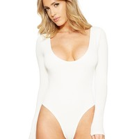 Naked Wardrobe The NW Come A-Round Bodysuit - New Arrivals