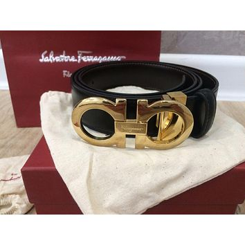 Tagre™ Salvatore Ferragamo reversible adjustable belt