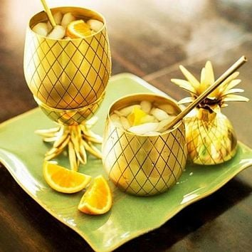 Unique Pineapple Shaped Cocktail Mug
