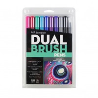 Dual Brush Pen Set, 10 Galaxy