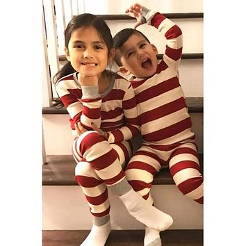 Candy Cane Lane Matching Family Christmas Pajamas