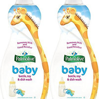Palmolive Ultra Baby Bottles, Toy and Dish Wash Liquid, 25 ounce (Pack of 2)