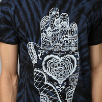 Urban Outfitters - Heart Hand Marble Tie-Dye Tee
