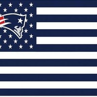 NFL New England Patriots flag banner