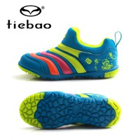 TIEBAO Football Shoes Soccer Cleats Kids Soccer Cleats Shoes TF Soccer Shoes Boys Girls Sneakers Trainers Football Boots