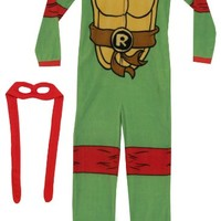 Teenage Mutant Ninja Turtles Raphael Men's Green Union Suit