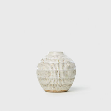 Medium Carved Vase