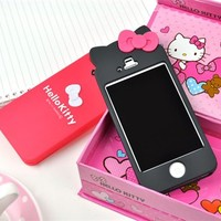 iPhone Case - Hello Kitty Bow iPhone 4/4s Case   CoolPencilCase.com