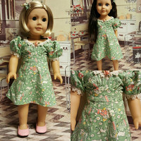 """Historical 18 inch doll clothes """"Little Boy Blue"""" 1940s  1930s outfit will fit American Girl® and other 18 inch dolls OOAK H1"""