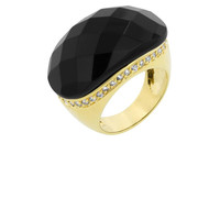 Black Jeweled Ring