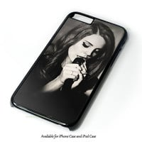 Lana Del Rey Great Gatsby Design Design for iPhone 4 4S 5 5S 5C 6 6 Plus, and iPod Touch 4 5 Case