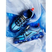 NIKE Vapormax Fashion New Hook Print Women Men Running Sports Leisure Shoes