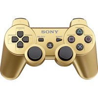 Sony - DUALSHOCK 3 Wireless Controller for PlayStation 3 - Gold