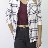 Danni II Plaid Shirt