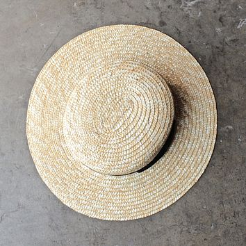 Lack of Color - The Spencer Straw Boater Hat