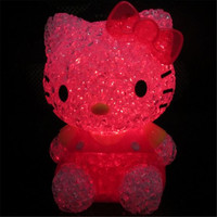 Hello Kitty LED Colorful Night Light