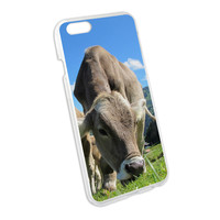 Grazing Cows Mountain Farm Snap On Hard Protective Case for Apple iPhone 6