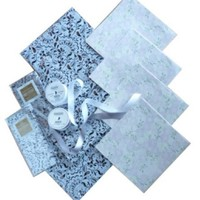 The Gift Wrap Company Sterling Set Gift Wrap And Ribbon Kit