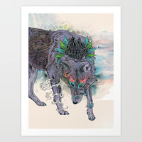 Journeying Spirit Art Print by Mat Miller