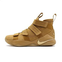 NIKE Original New Arrival Mens Basketball Sneakers LeBron Soldier Breathable Footwear Super Light Outdoor For Men