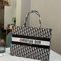 Dior Women Leather Shoulder Bag Satchel Tote Bag Handbag Shopping Leather Tote Crossbody Satchel Shouder Bag created