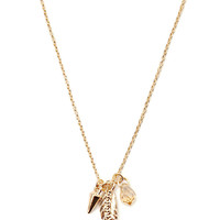 Feather Charm Necklace