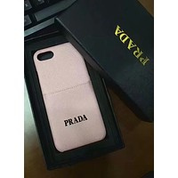PRADA 2018 new men and women with the same iphoneX mobile phone case cover F-OF-SJK #7