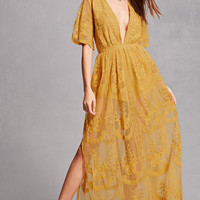 Honey Punch Lace Maxi Dress