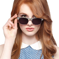 ModCloth Festival Same Sweet, Different Day Sunglasses