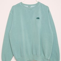 ERICA BEAR EMBROIDERY SWEATSHIRT