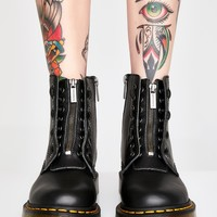 1460 Pascal Front Zip Boots