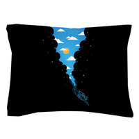 Skydiver Pillow Shams