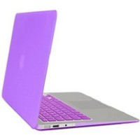 Gearonic Rubberized PC Hard Case with Keyboard Cover and Screen Protector for 11-Inch MacBook Air, Purple (5081UPUIB)