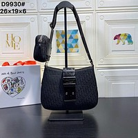 Dior Women Leather monnogam Handbag Crossbody bags Shouldbag Bumbag