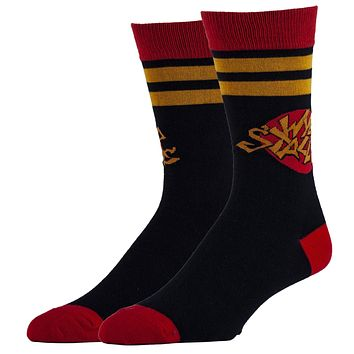 Wyld Stallyns Bill and Ted Men's Crew Socks