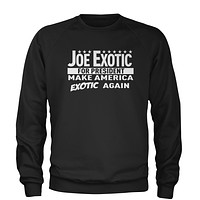 Joe Exotic For President Adult Crewneck Sweatshirt