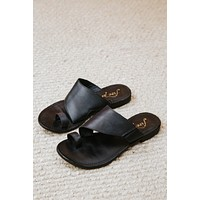 Sant Antoni Slide Sandal, Black | Free People