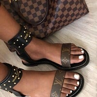 Louis Vuitton LV Nomad Sandals For Women Shoes