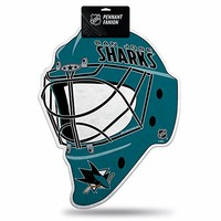 NHL San Jose Sharks Die Cut Pennant with Hang Card