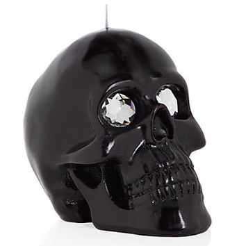 Black Skull Candle   Candles-home-fragrance   Accessories   Decor   Z Gallerie