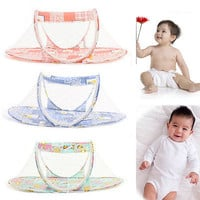 1 X Portable Baby Kid Mosquito Net Infant Travel Bed Crib Canopy Net Tent